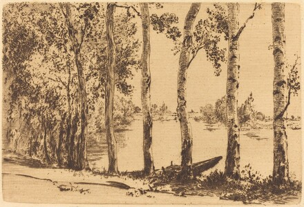 Poplars Along the Seine