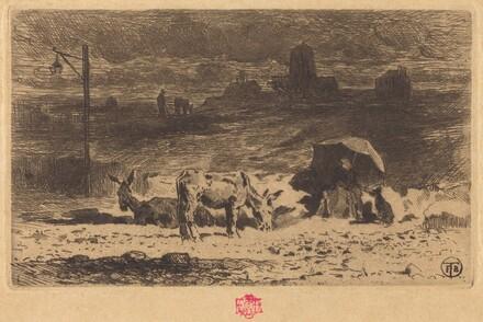 Les Anes de La Butte-aux-Cailles (Donkeys at La Butte-aux-Cailles)