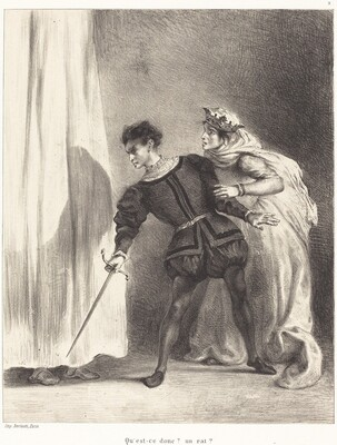 The Murder of Polonius (Act III, Scene IV)