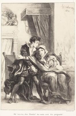 Hamlet and the Queen (Act III, Scene IV)