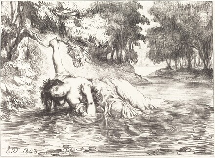 The Death of Ophelia (Act IV, Scene VII)