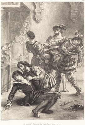The Death of Hamlet (Act V, Scene II)