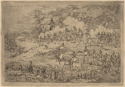Charge of the Cavalry (Charge de cavalerie contre des chasseurs)