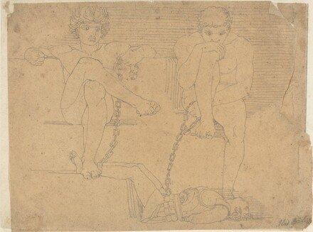 Otus and Ephialtes Holding Mars Captive