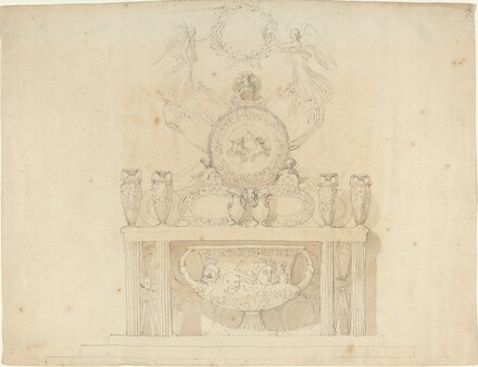 Study for Decorations of Buckingham Palace