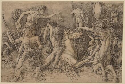 Battle of the Sea Gods [left half]
