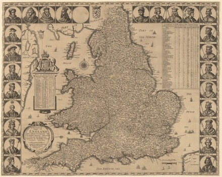 A New and Exact Mappe of England