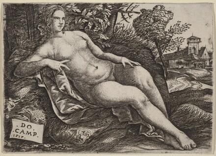 Venus Reclining in a Landscape