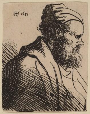 Snub-Nosed Man in a Cap