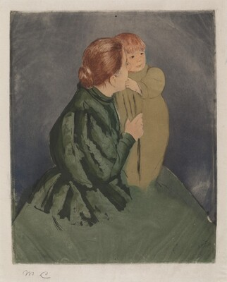 Peasant Mother and Child