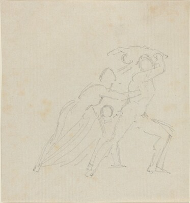 Study for The Fury of Athamas