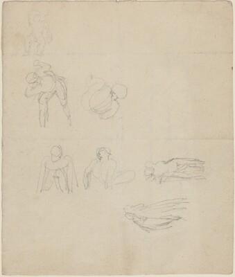 Sheet of Figures Studies
