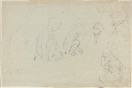 Studies of a Kneeling Boy