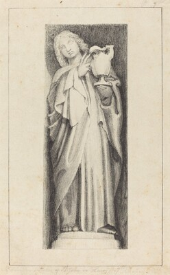 Saint John, from Henry the Seventh's Chapel  Westminster Abbey