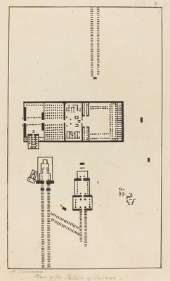 Plan of the Palace of Carnac