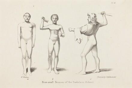 Daedalian Figures from Bronzes