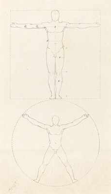 Circle and Square of the Human Figure