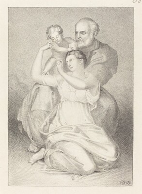Holy Family, from Michelangelo