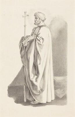An Apostle, from Albert (sic) Durer