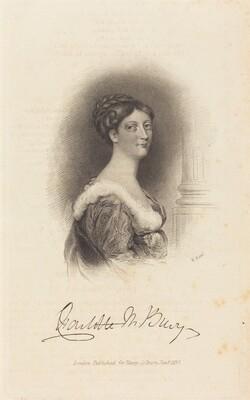 Lady Charlotte Susan Maria Bury