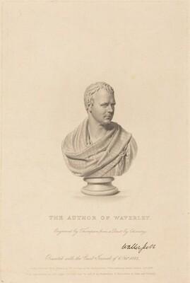 Bust of Sir Walter Scott
