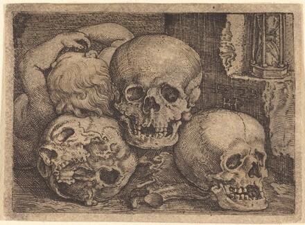 Child with Three Skulls