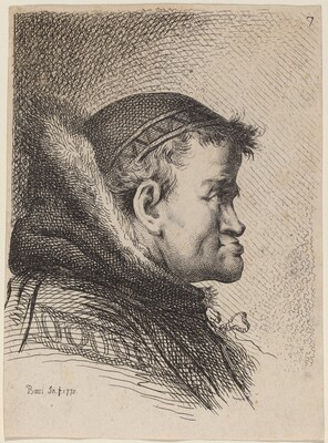 Head of a Cleric
