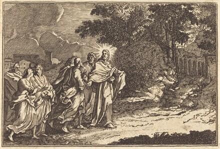 Christ Arrives on the Mount of Olives