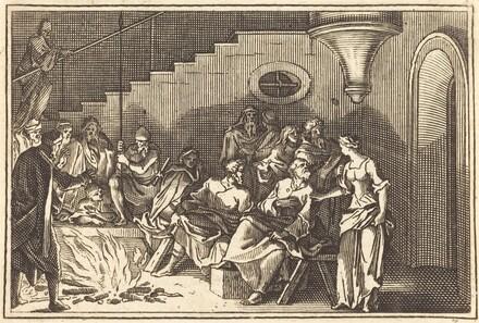 Peter Denying Christ