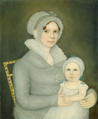 Mrs. John Harrisson and Daughter