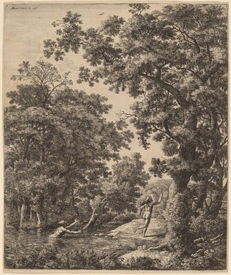 Landscape with Alpheus and Arethusa