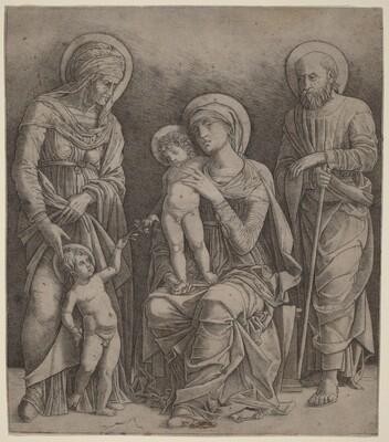 Holy Family with Saint Elizabeth and the Infant Saint John