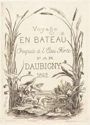 Title Page for Voyage en bateau