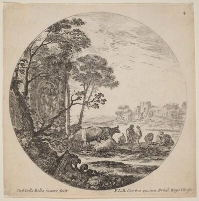 Landscape with Roman Ruins