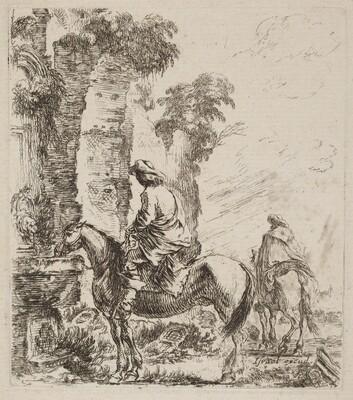 Landscape with Horsemen