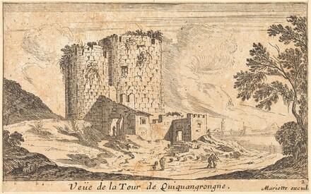 Veue de la Tour de Quinquangrongne