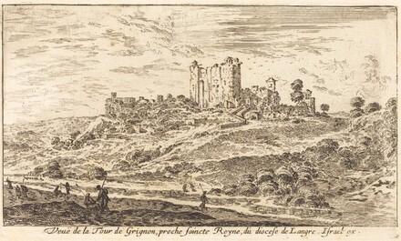 Veue de la Tour de Grignon