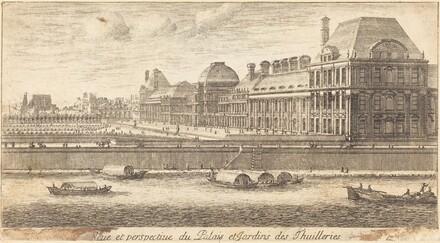 Veue et Perspectiue du Palais et Jardins des Thuilleries