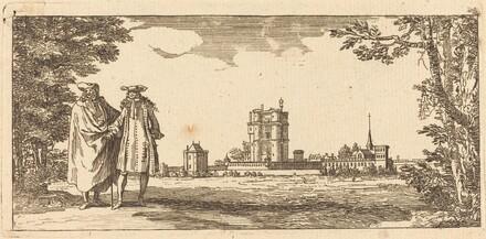 Plan general du Chasteau et petit Parc de Vincennes