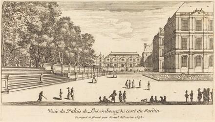 Veue du Luxembourg