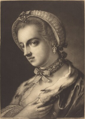 Imaginary Portrait of an English Beauty