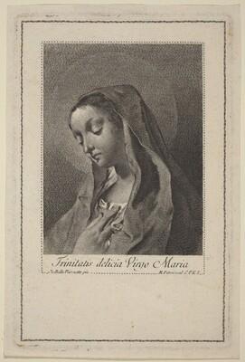 Trinitatis delicia Virgo Maria