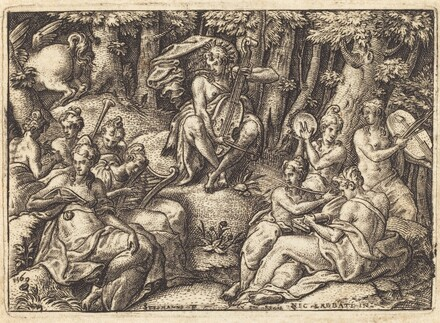 Apollo on Mount Parnassus