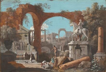 A Capriccio of Roman Ruins