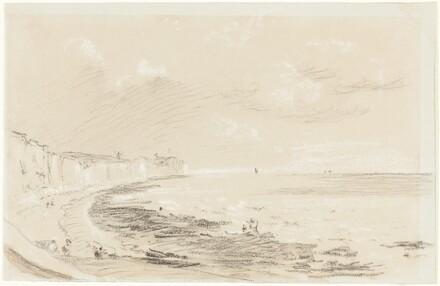 Sea Coast Scene