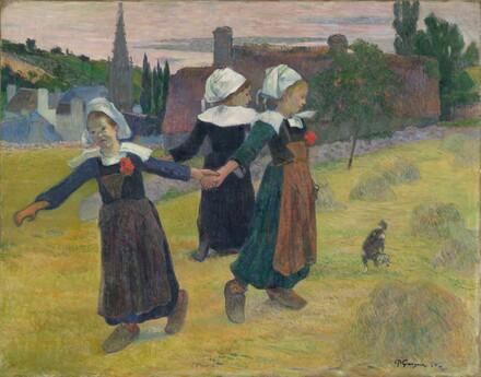 Breton Girls Dancing, Pont-Aven