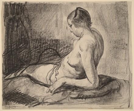 Nude Girl Reclining