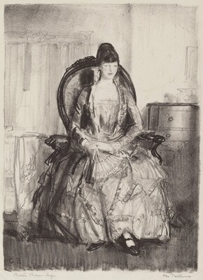 Emma in a Chair, or Lady with a Fan