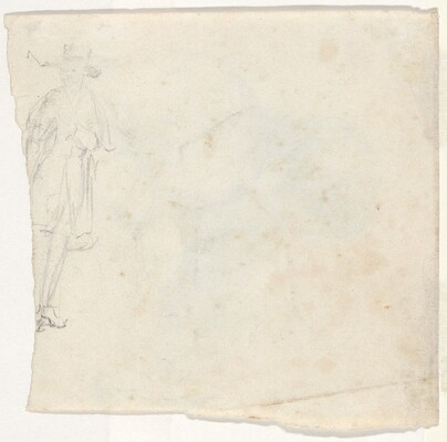 Sketch of a Standing Man [verso]