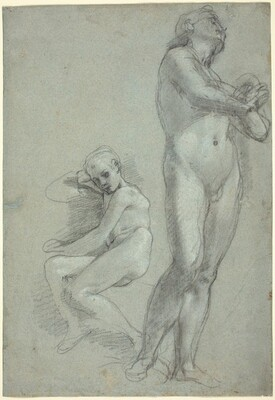 Two Nude Youths [recto]